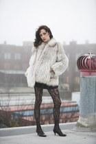 fur coat coat