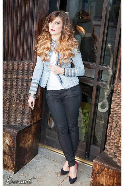 Guess jacket - Guess jeans - Zara pumps