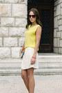 Diy-bracelet-mango-sunglasses-ivory-zara-skirt-mango-necklace