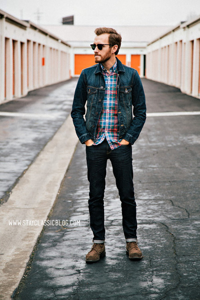 denim American Eagle jacket