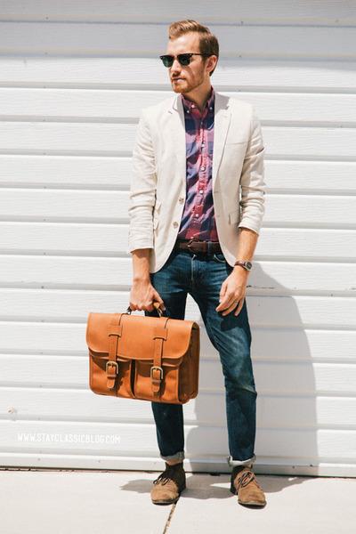 linen H&M blazer