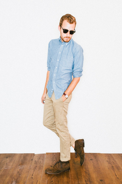 Club Run shirt - J Crew pants