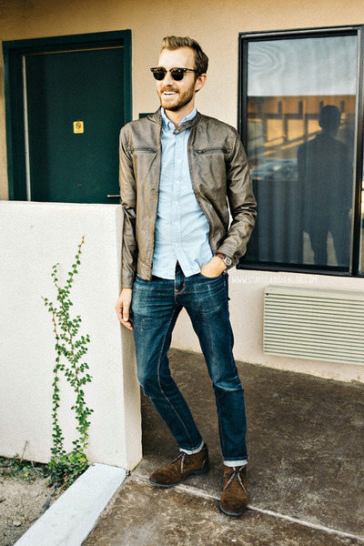 easy reader timex watch - cooper Robert Wayne boots - American Eagle jeans