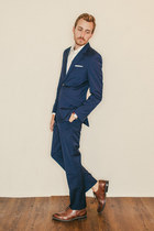 stafford ashton JCPenney shoes - H&M suit