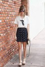 White-tea-and-tulips-blouse-navy-romwe-skirt