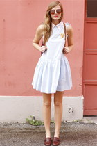 periwinkle Tea and Tulips dress