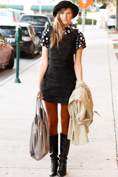 black Tea and Tulips blouse - tan Shoppalu jacket