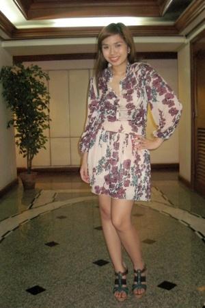 Mango dress - Janylin shoes