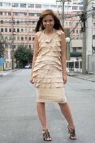 Bellamanila dress - Folded & Hung shoes