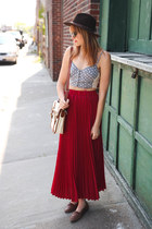 red Chicwish skirt