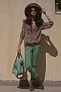 Camel-cowboy-boots-camel-h-m-hat-aquamarine-bag