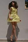 Light-yellow-pearl-flower-romwe-dress-white-studded-heart-romwe-bag
