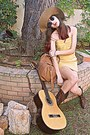 Brown-cowboy-boots-mustard-threadsence-dress-camel-h-m-hat