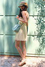 Aquamarine-new-look-sandals-light-yellow-zara-dress-light-yellow-hat