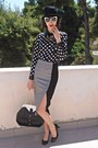 Black-hat-black-polka-dot-romwe-shirt-black-vj-style-bag