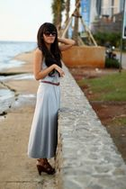 Charles & Keith belt - Charles & Keith shoes - Local Boutique dress
