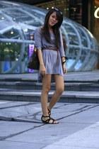 H&M dress - Charles & Keith shoes - Louis Vuitton bag - H&M sunglasses