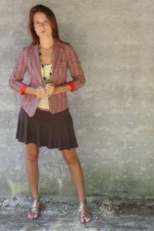Mind Over Matter by Stephanie Geisler jacket - Target shirt - World Market neckl