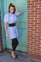 vintage from Mind Over Matter by Stephanie Geisler dress - Target belt - Gap sto