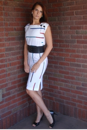 white vintage from Mind Over Matter by Stephanie Geisler dress