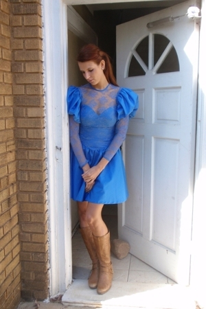Mind Over Matter by Stephanie Geisler dress - Jessica Simpson boots - Anthropolo