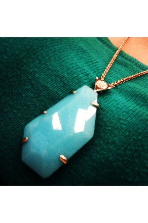 turquoise blue Samantha Wills necklace