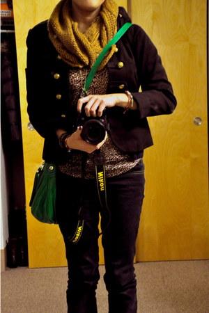 Anne Klein scarf - Marc by Marc Jacobs bag - Mango blouse