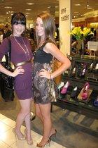 Super Lucky Cat dress - Gianni Binni shoes