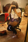Forever-21-shoe-shoes-csub-hat-hat-thrift-store-bag-shorts-knee-high-soc