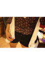 Black-stud-thrifted-forever-21-shorts-forever-21-blouse-knitted-forever21-ve
