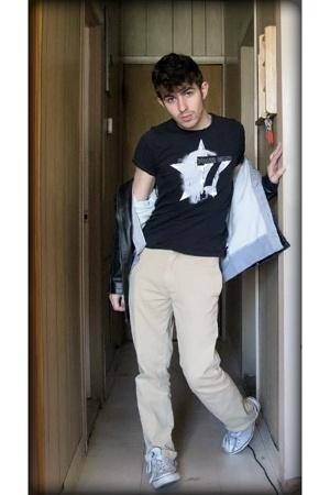 BDG pants - calvin klein t-shirt - H&M sweater - American Rag jacket - Converse