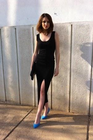 H&M shoes - vintage dress