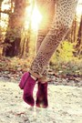 Burgundy-sign-boots-leopard-cheap-monday-jeans-burgundy-h-m-hat
