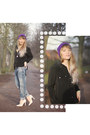 Sky-blue-boyfriend-river-island-jeans-purple-knitted-ebay-hat