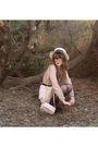 Pink-forever-new-blouse-white-princess-highway-skirt-black-sportsgirl-shoes-