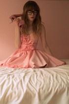 LittleGracie dress - romwe heels - myname necklace