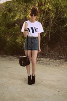 shorts - top - wedges