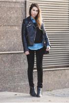 Topshop shirt - Zara jacket - PROENZA SCHOULER bag