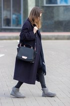 Ugg boots - BHS coat - H&M scarf - Zac Posen bag