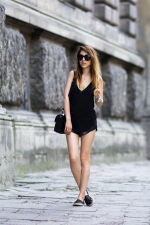 black sam edelman shoes - black PROENZA SCHOULER bag - black Celine sunglasses