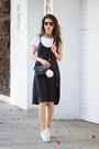 Black-diy-dress-black-zara-bag-white-massimo-dutti-sneakers
