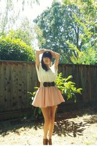 light pink pink skirt skirt