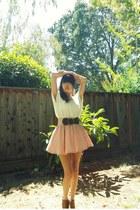 light pink pink skirt skirt