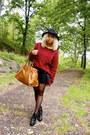 Stradivarius-hat-gina-tricot-jumper-h-m-skirt