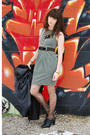 Blue-forever21-coat-gray-dress-black-tights-black-shoes