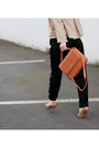 Brown-leather-j-crew-bag-tan-club-monaco-blazer-black-r-w-co-pants