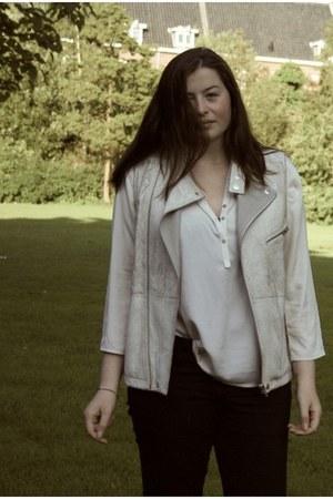 faa H&M vest - Primark blouse