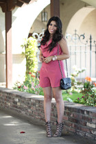 Sarine Marie bodysuit - Zara heels