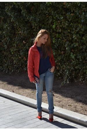 Zara jacket - BLANCO jeans - Zara t-shirt
