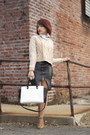 Urban-outfitters-sweater-selma-michael-kors-purse-lace-up-zara-heels
